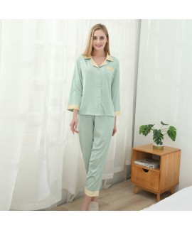 Summer sexy two piece pajama sets large size ice s...