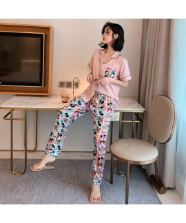 lively thin pajamas for women short sleeve cool ca...