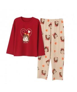 Lovely autumn and winter student leisure sleepwear...